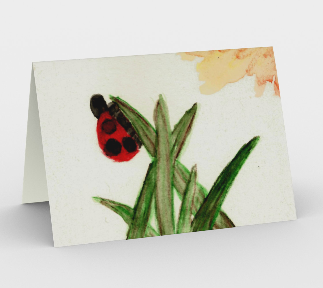 Ladybird Card preview #1