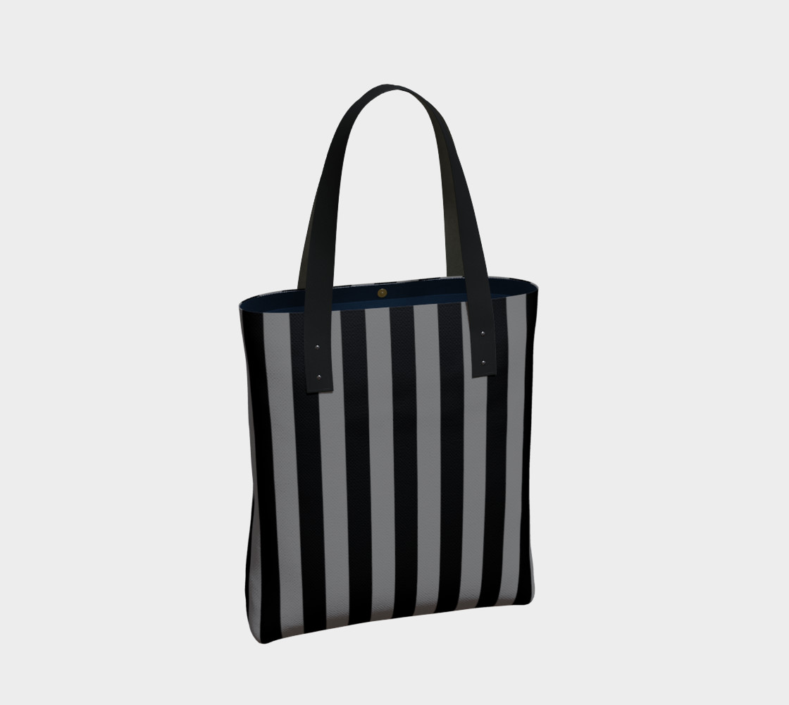 Black and Medium Grey Stripes preview #2