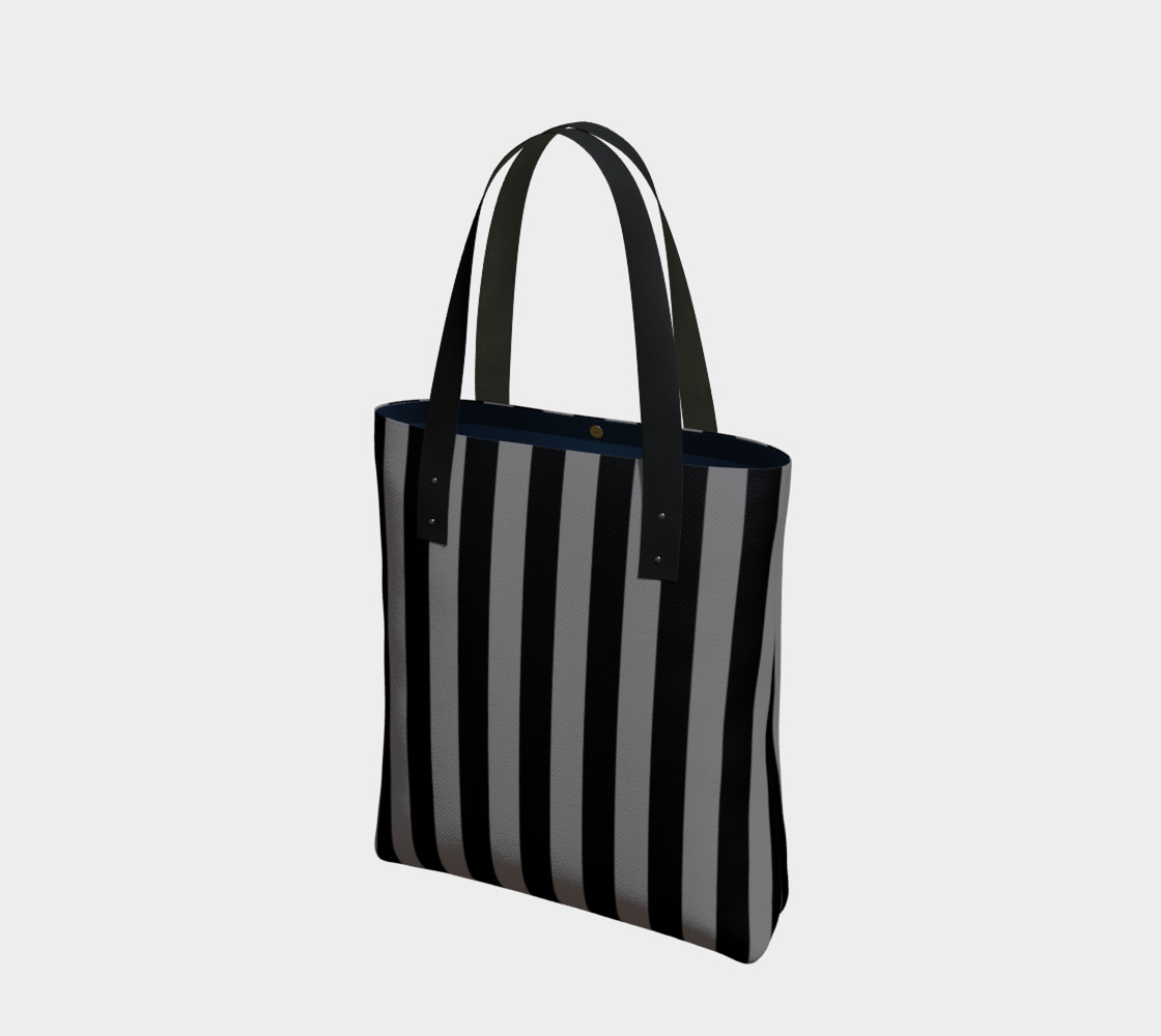 Black and Medium Grey Stripes preview #1