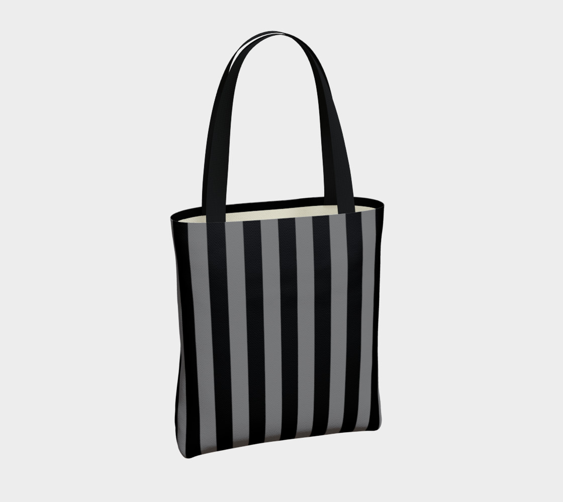 Black and Medium Grey Stripes preview #4
