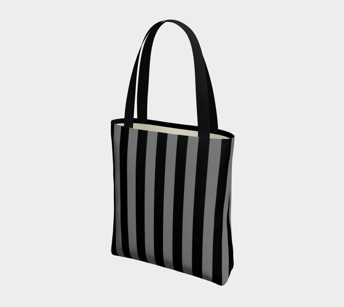 Black and Medium Grey Stripes preview #3