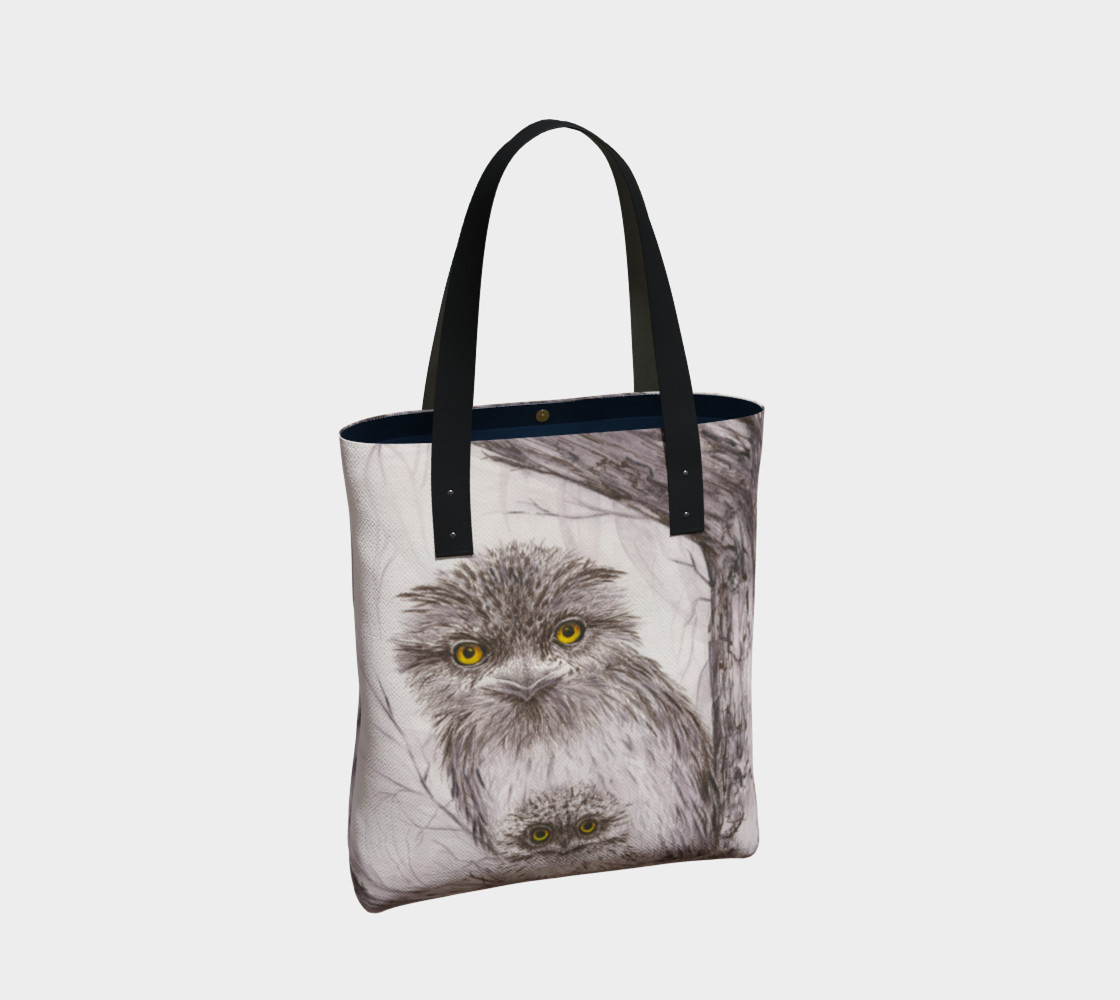Tawny Frogmouth Mum'n'Bub Tote preview #2
