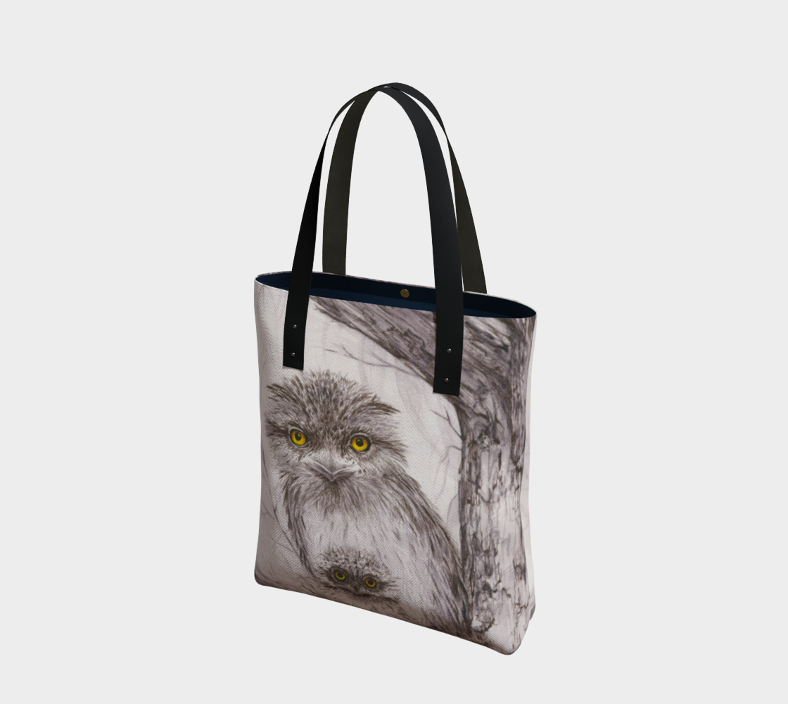 Tawny Frogmouth Mum'n'Bub Tote preview #1