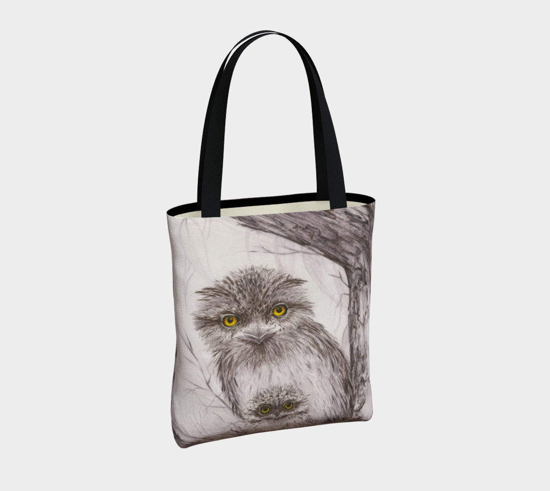 Tawny Frogmouth Mum'n'Bub Tote preview #4