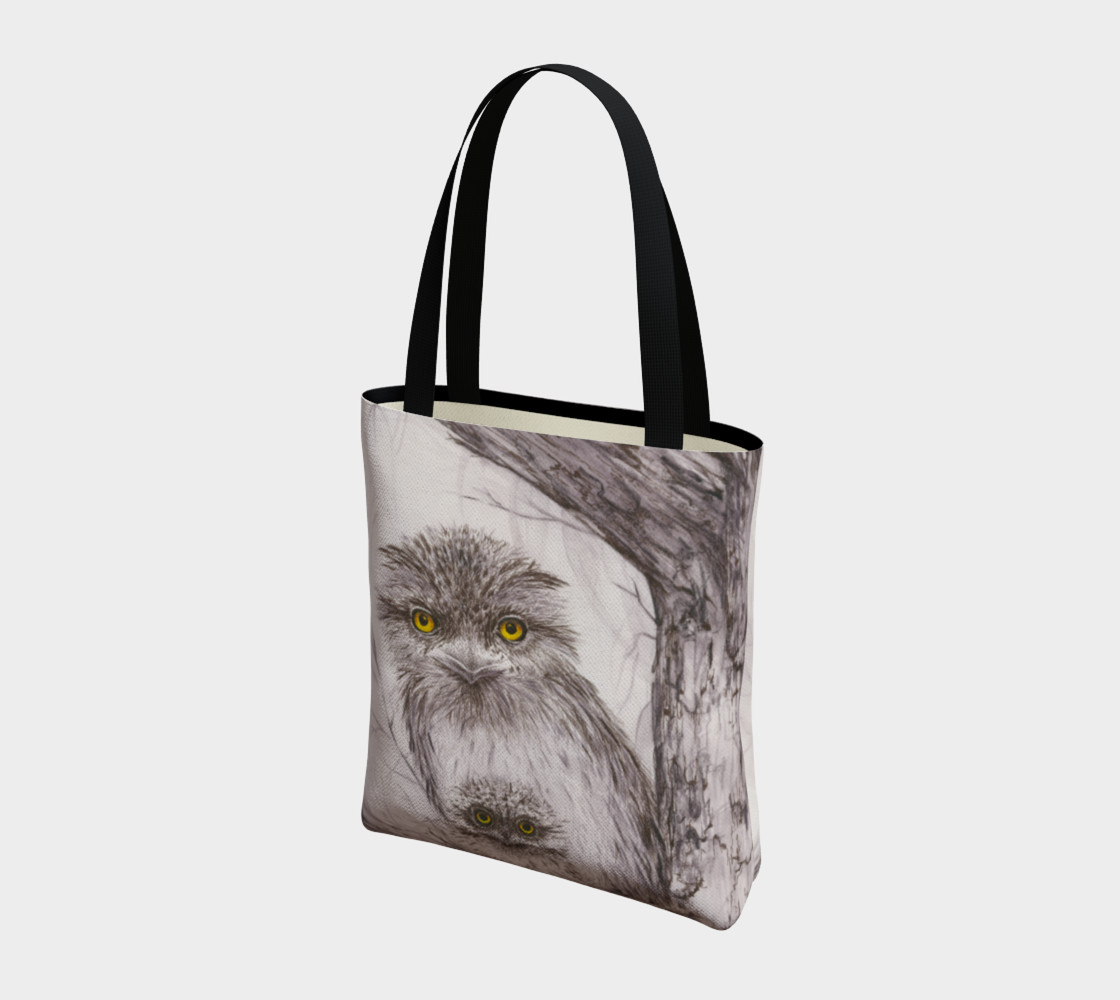 Tawny Frogmouth Mum'n'Bub Tote preview #3