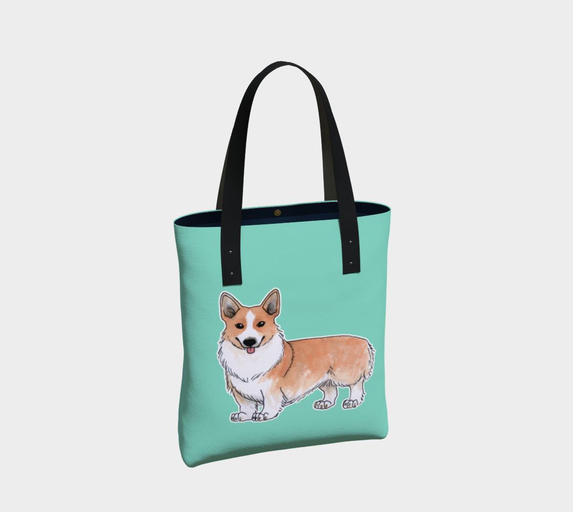 Welsh corgi dog Tote Bag preview #2