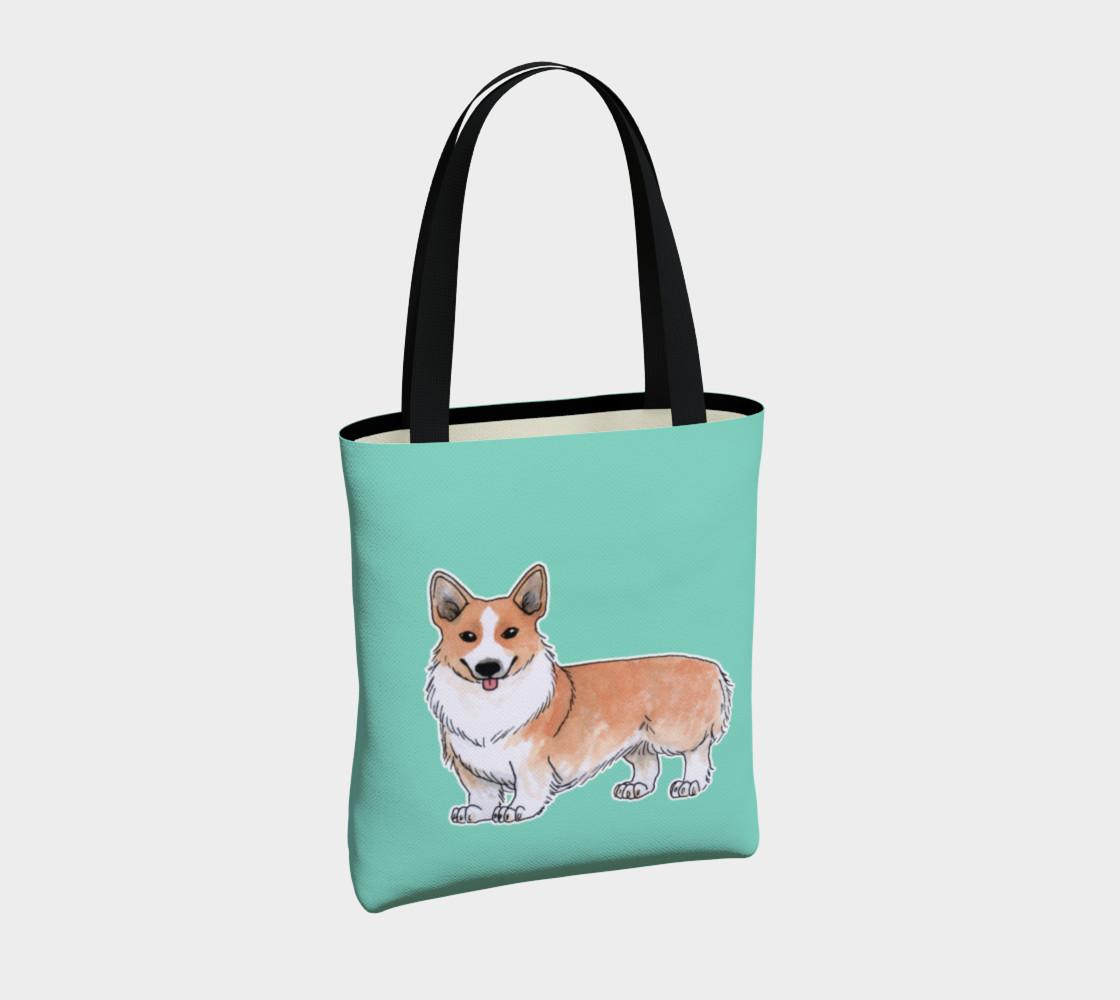 Welsh corgi dog Tote Bag preview #4
