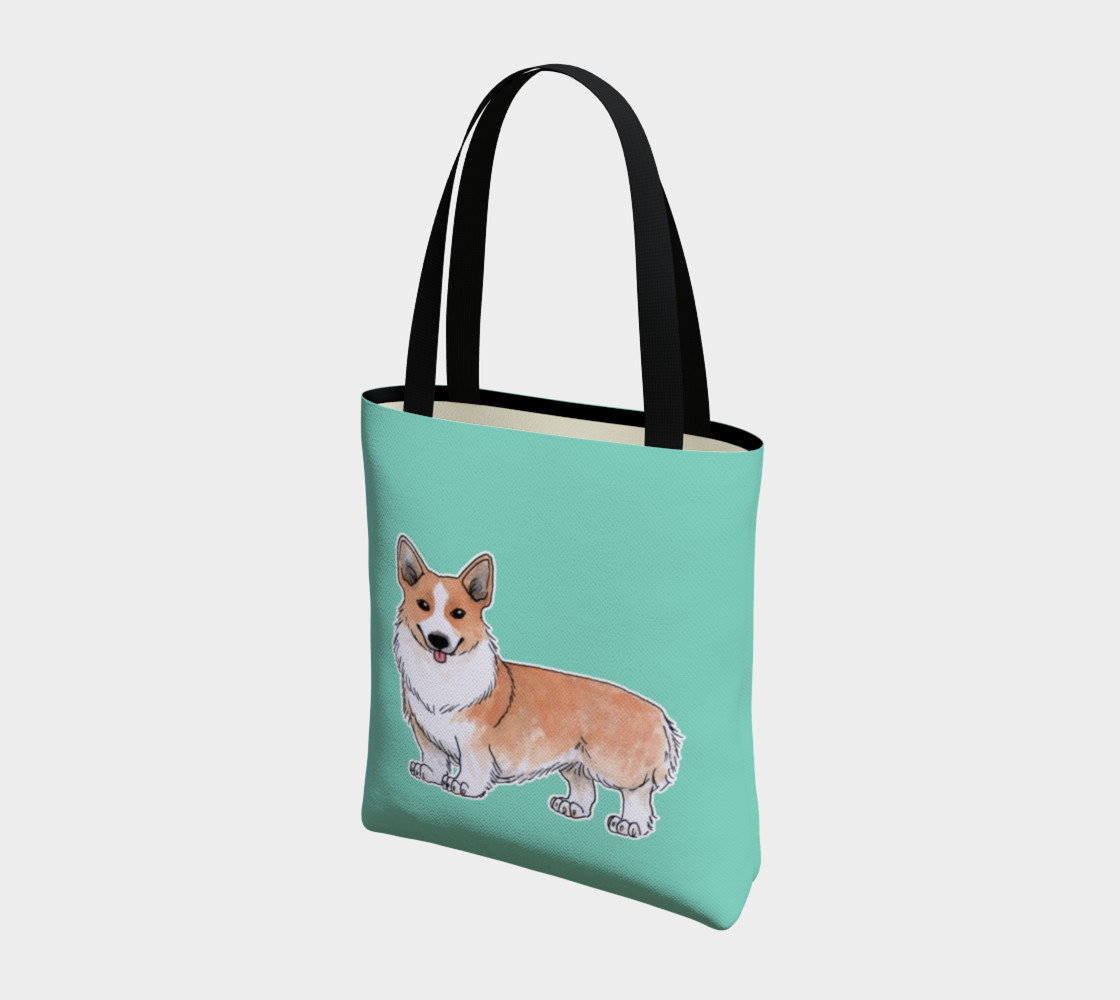 Welsh corgi dog Tote Bag preview #3