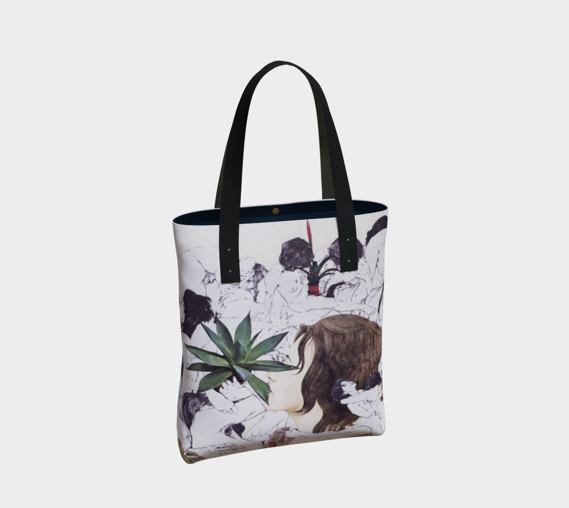 The Joy of Sex and Indoor Gardening Canvas Tote preview #2