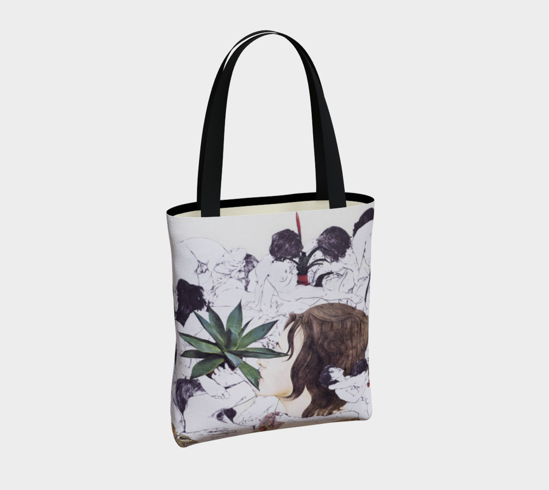 The Joy of Sex and Indoor Gardening Canvas Tote thumbnail #5