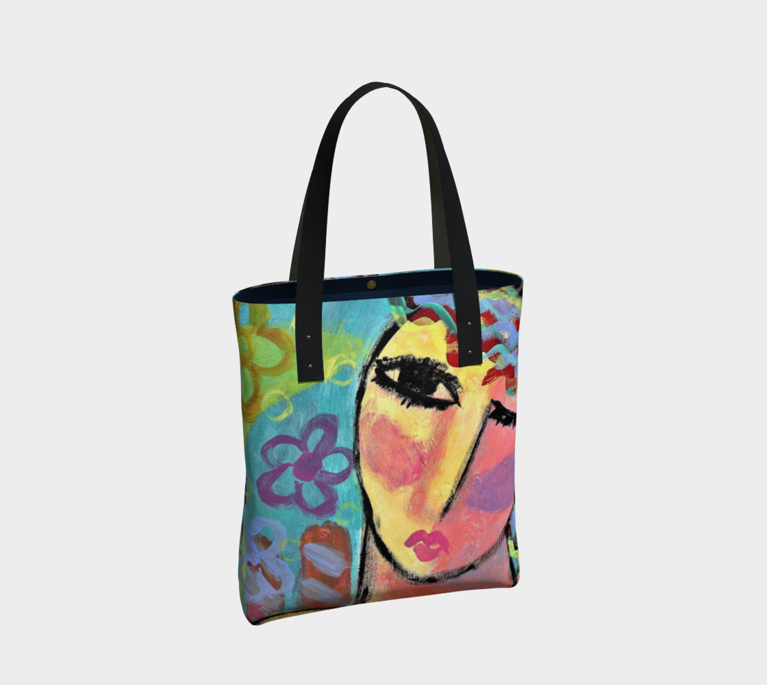 Original Abstract Art Tote Bag preview #2