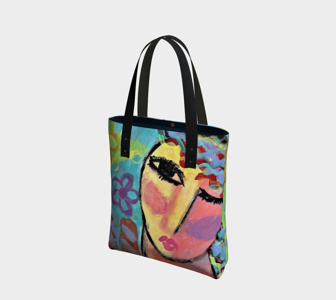 Original Abstract Art Tote Bag preview #1