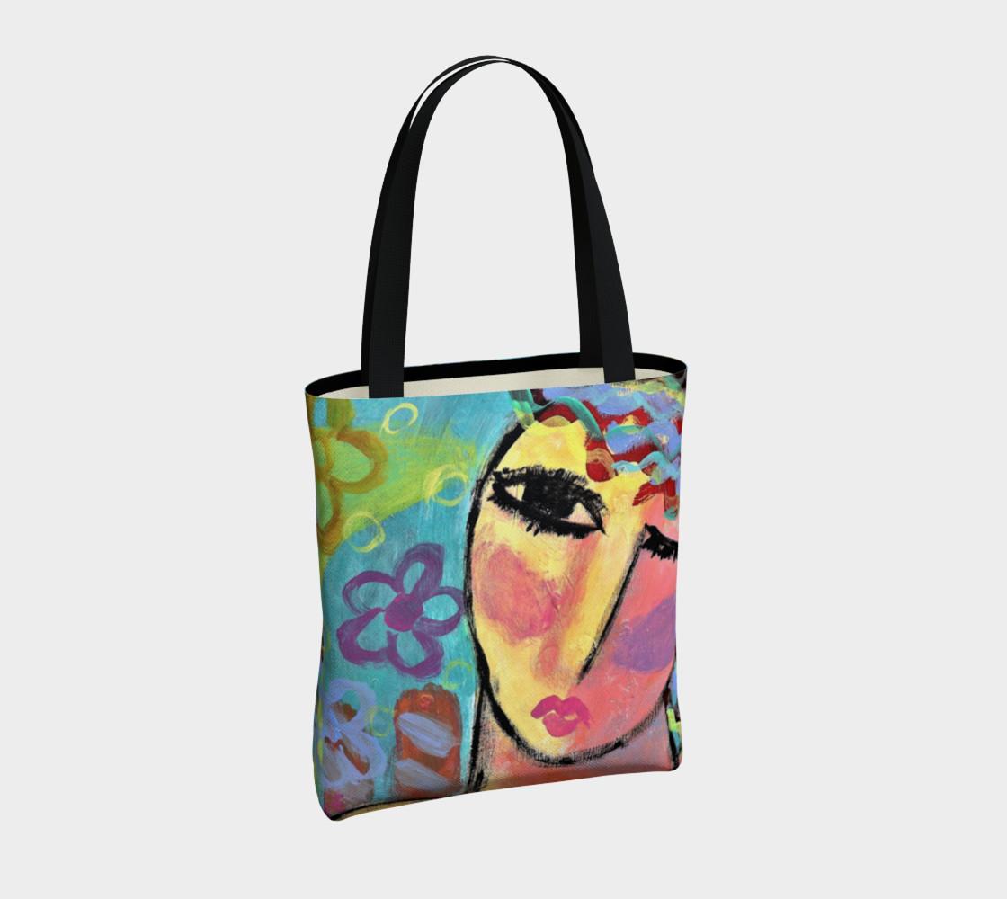 Original Abstract Art Tote Bag preview #4