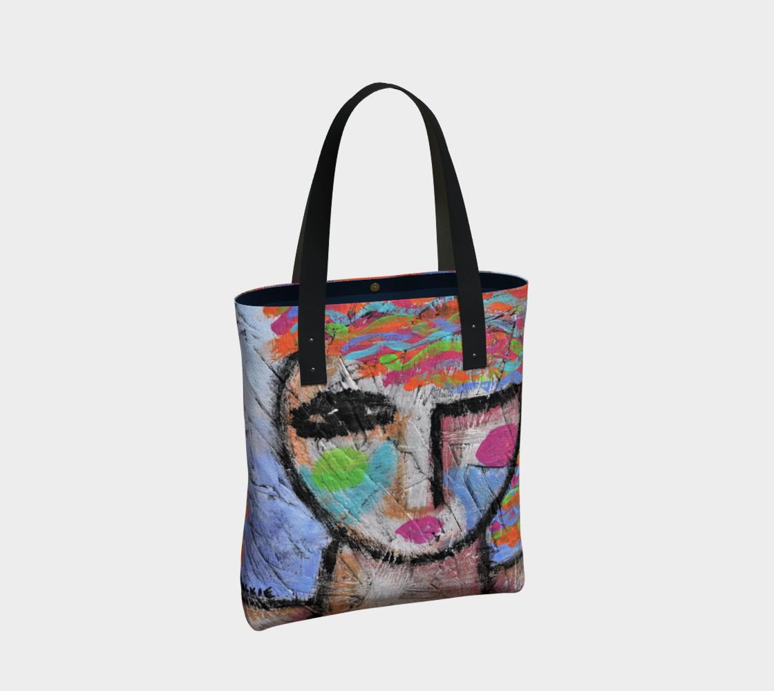 Aperçu de Abstract Woman Shoulder Bag #2