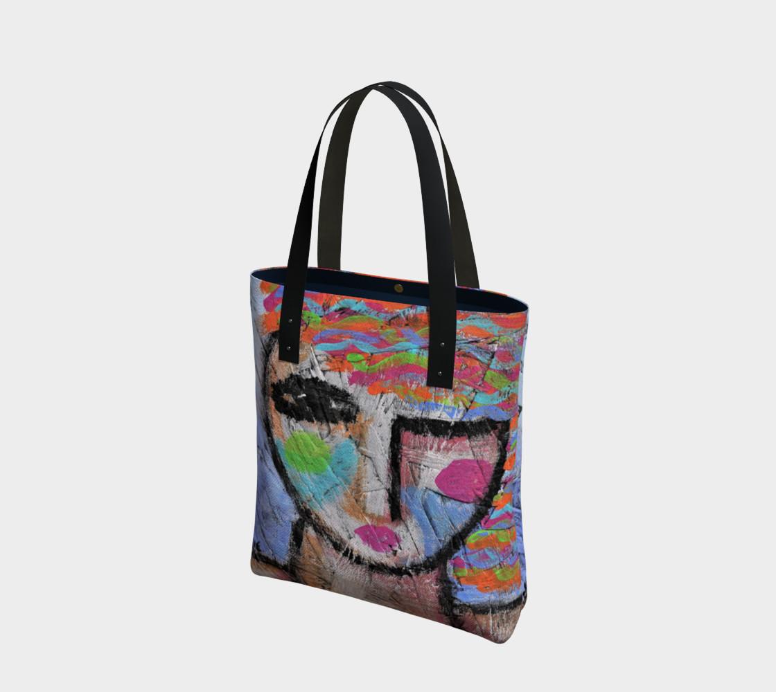 Aperçu de Abstract Woman Shoulder Bag #1