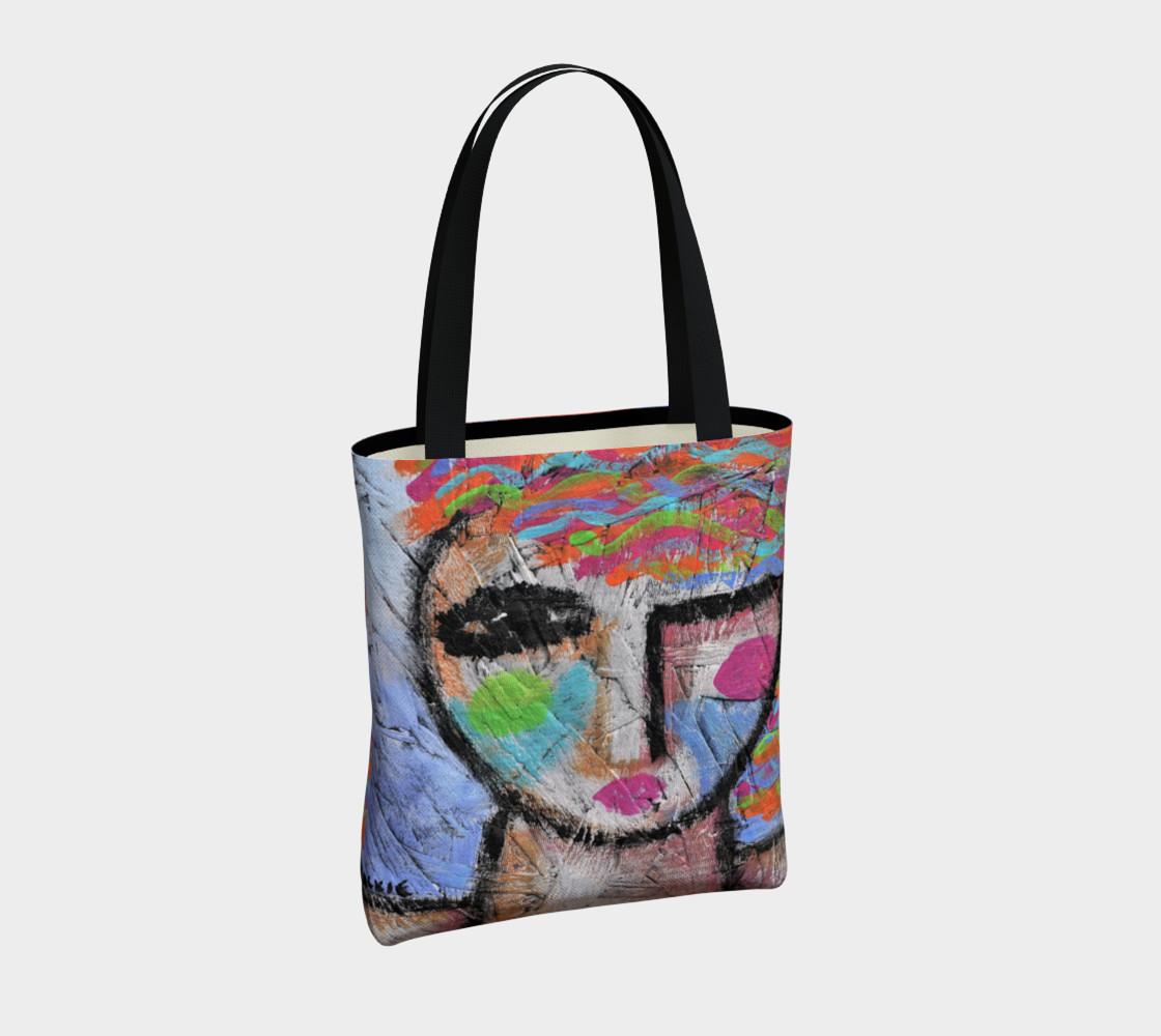 Aperçu de Abstract Woman Shoulder Bag #4