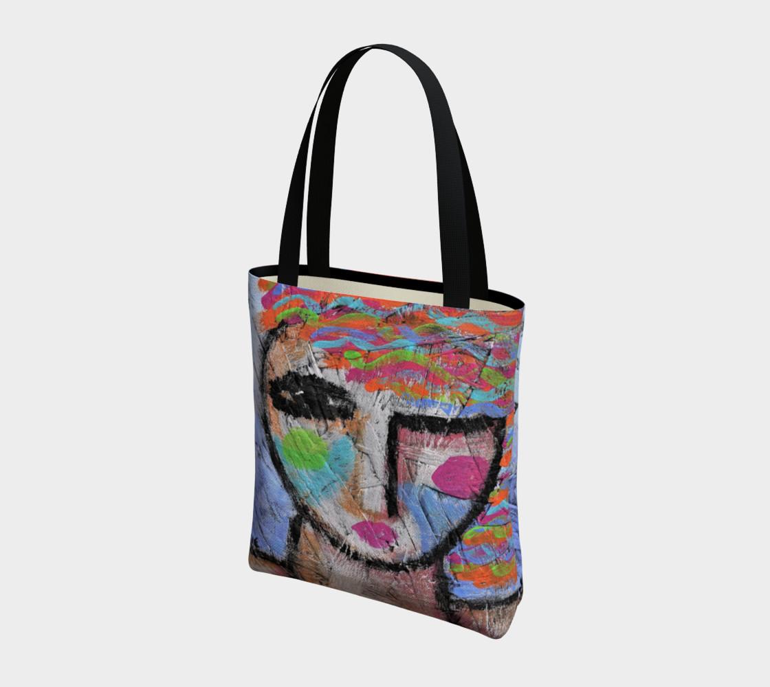 Aperçu de Abstract Woman Shoulder Bag #3