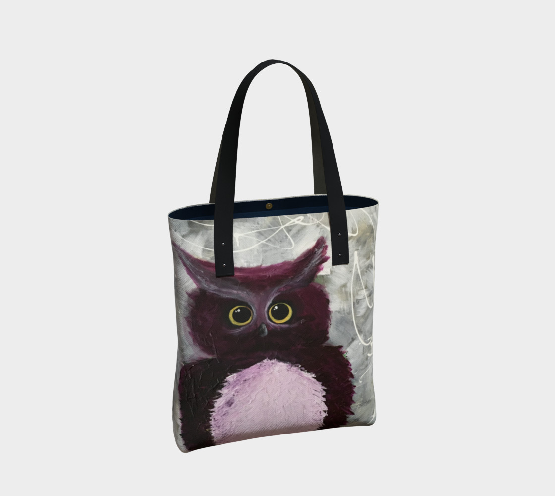 Mulberry Owl Tote Bag preview #2