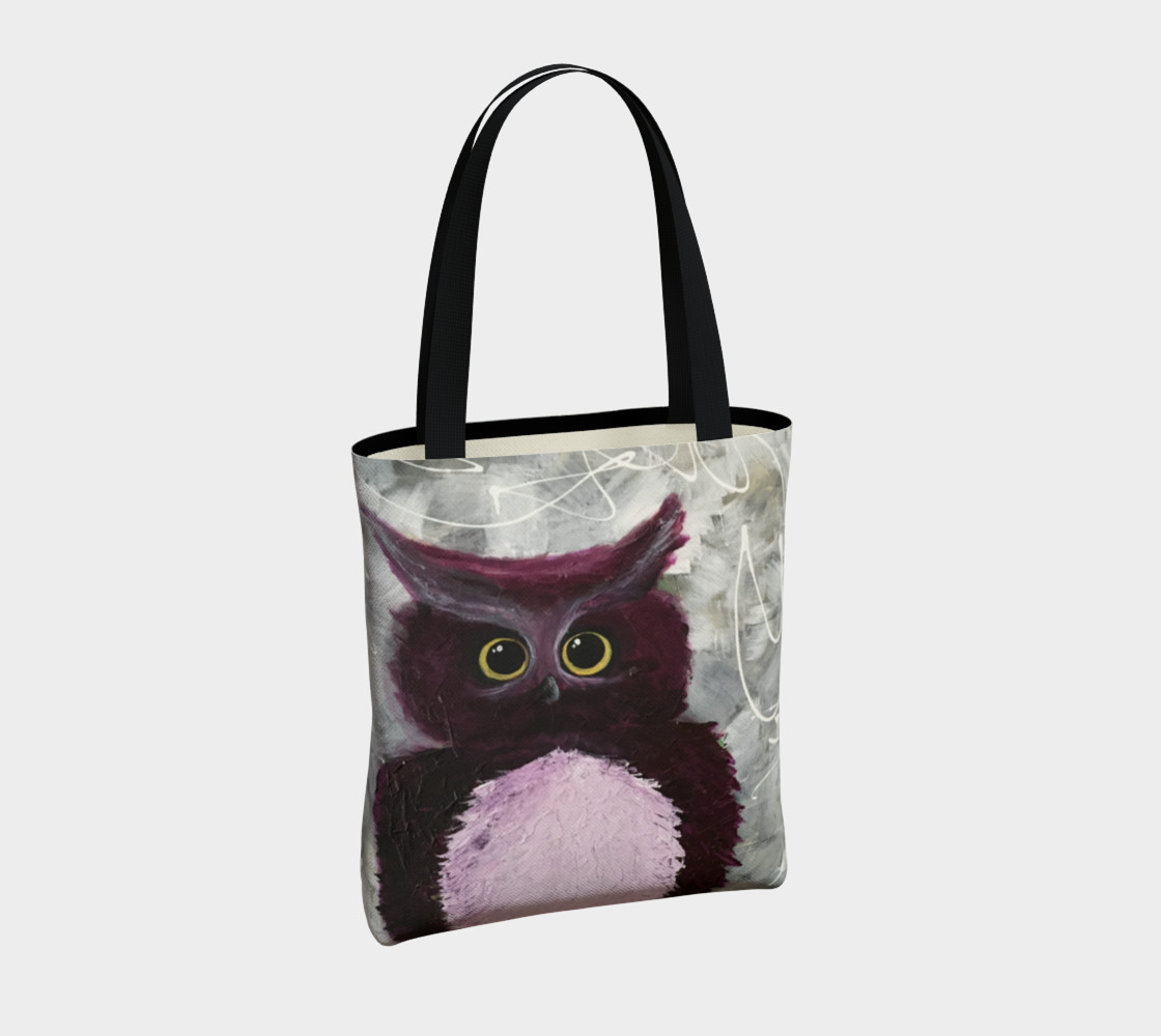 Mulberry Owl Tote Bag preview #4