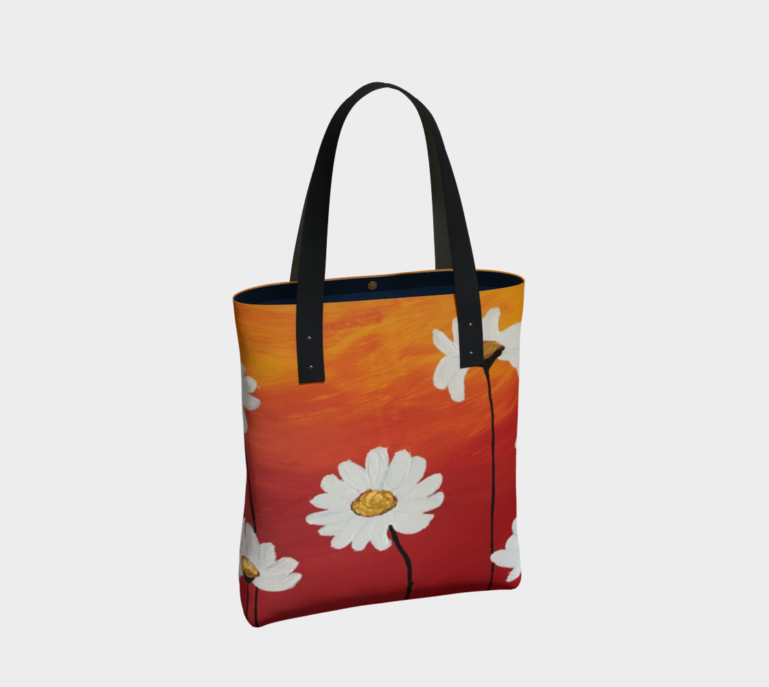 Daisy Sunset Tote Bag preview #2