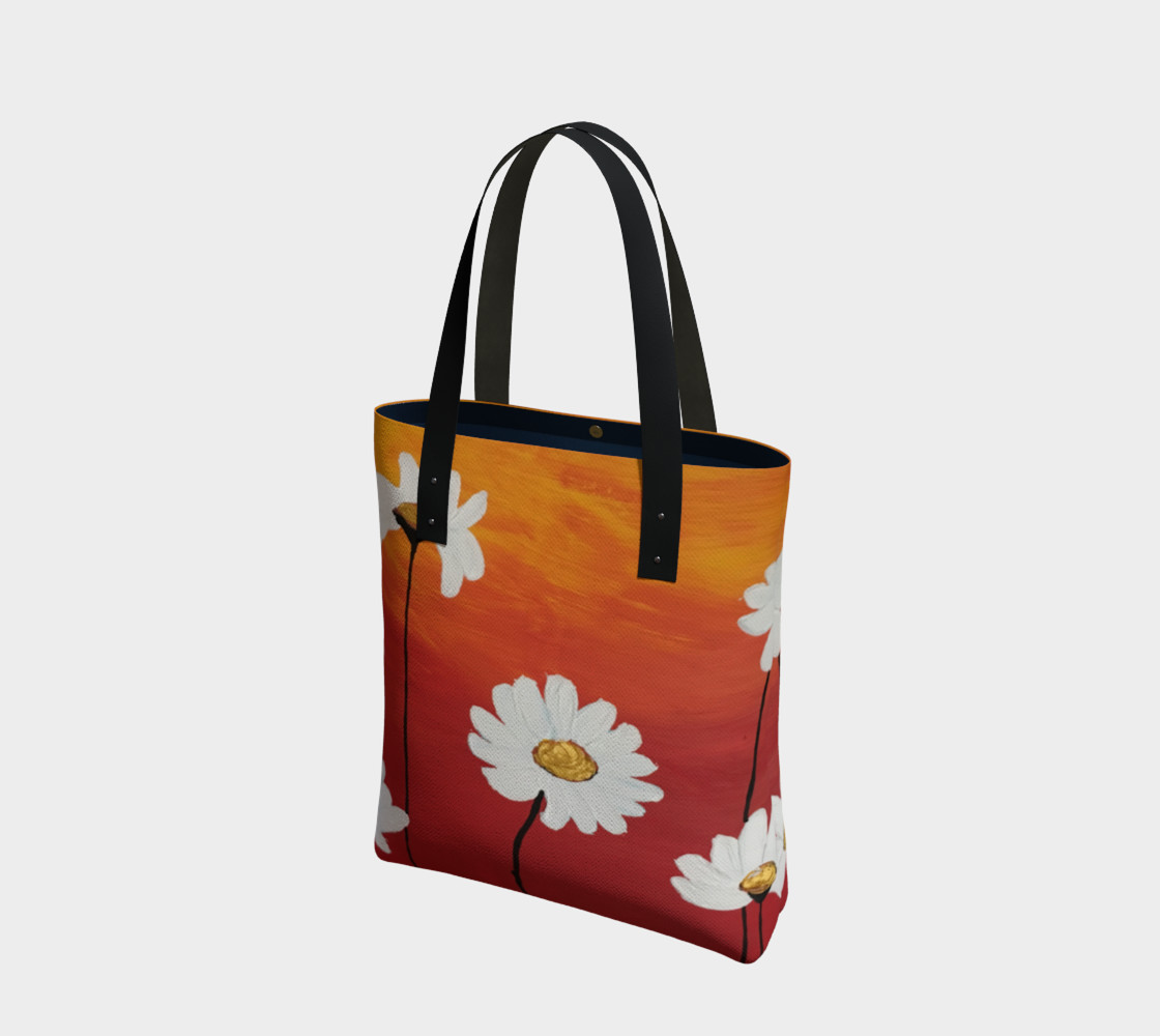 Daisy Sunset Tote Bag preview #1