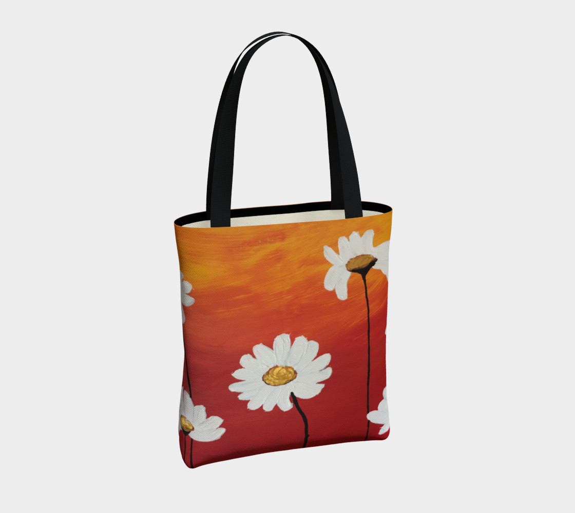 Daisy Sunset Tote Bag preview #4