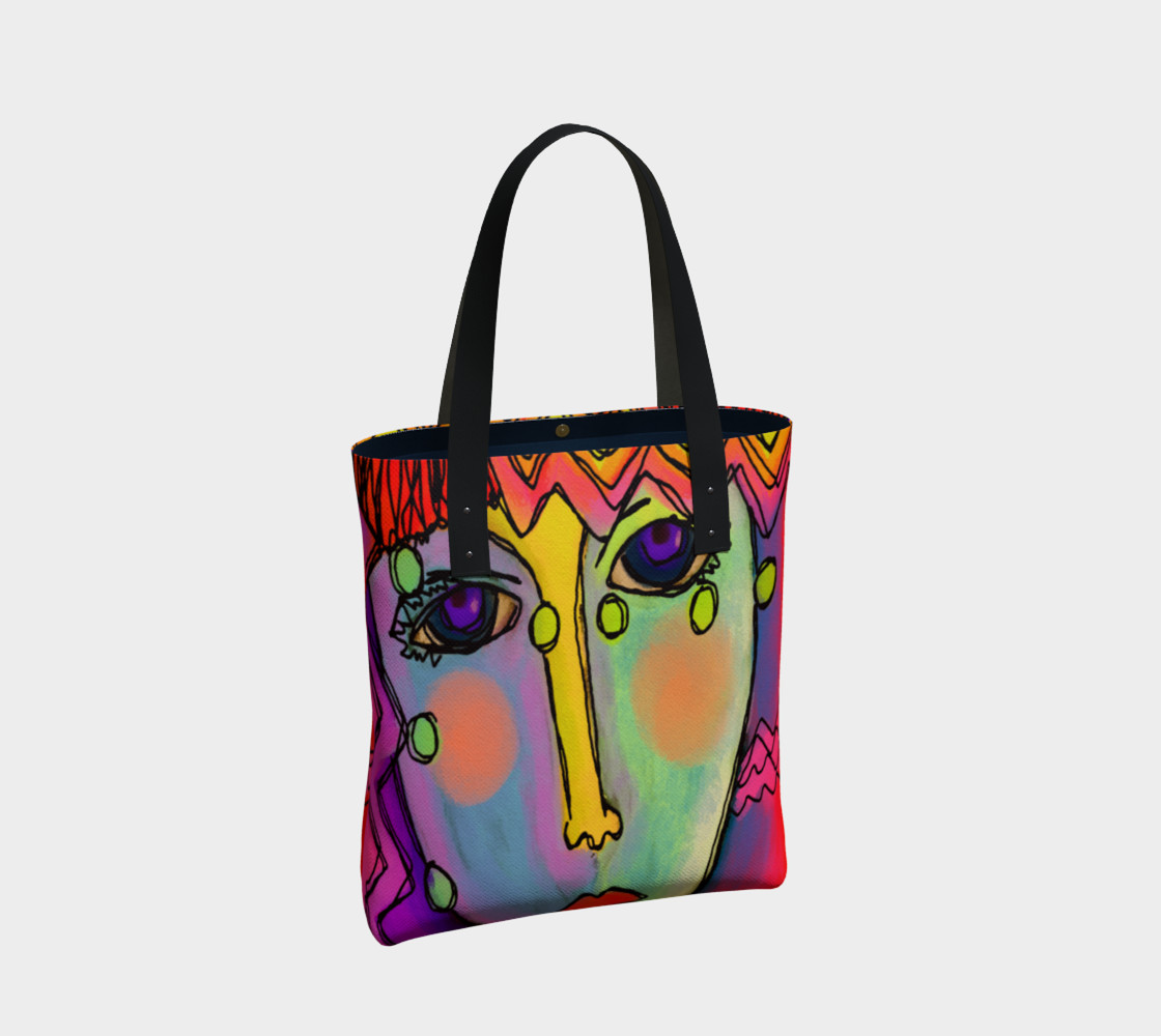 Original Abstract Art Shoulder Bag preview #2