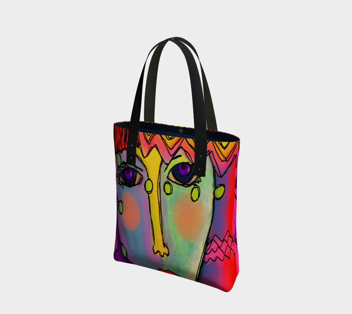 Original Abstract Art Shoulder Bag preview #1