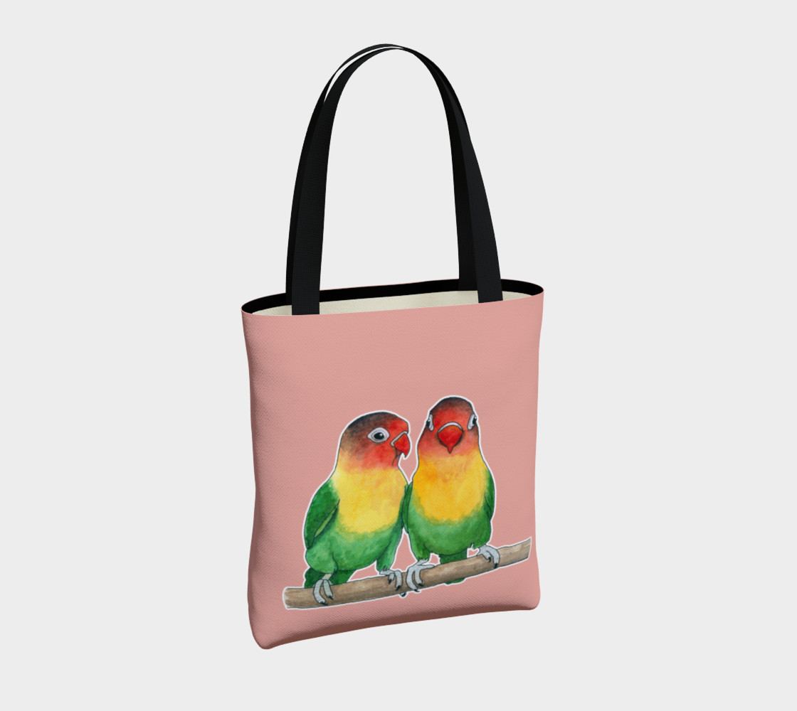 Fischer's lovebirds Tote Bag preview #4