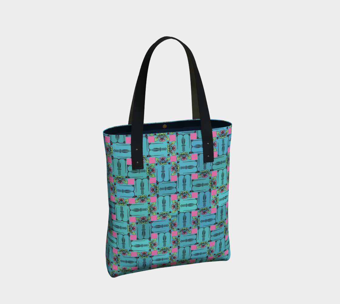 Charming Weave Tote Bag preview #2