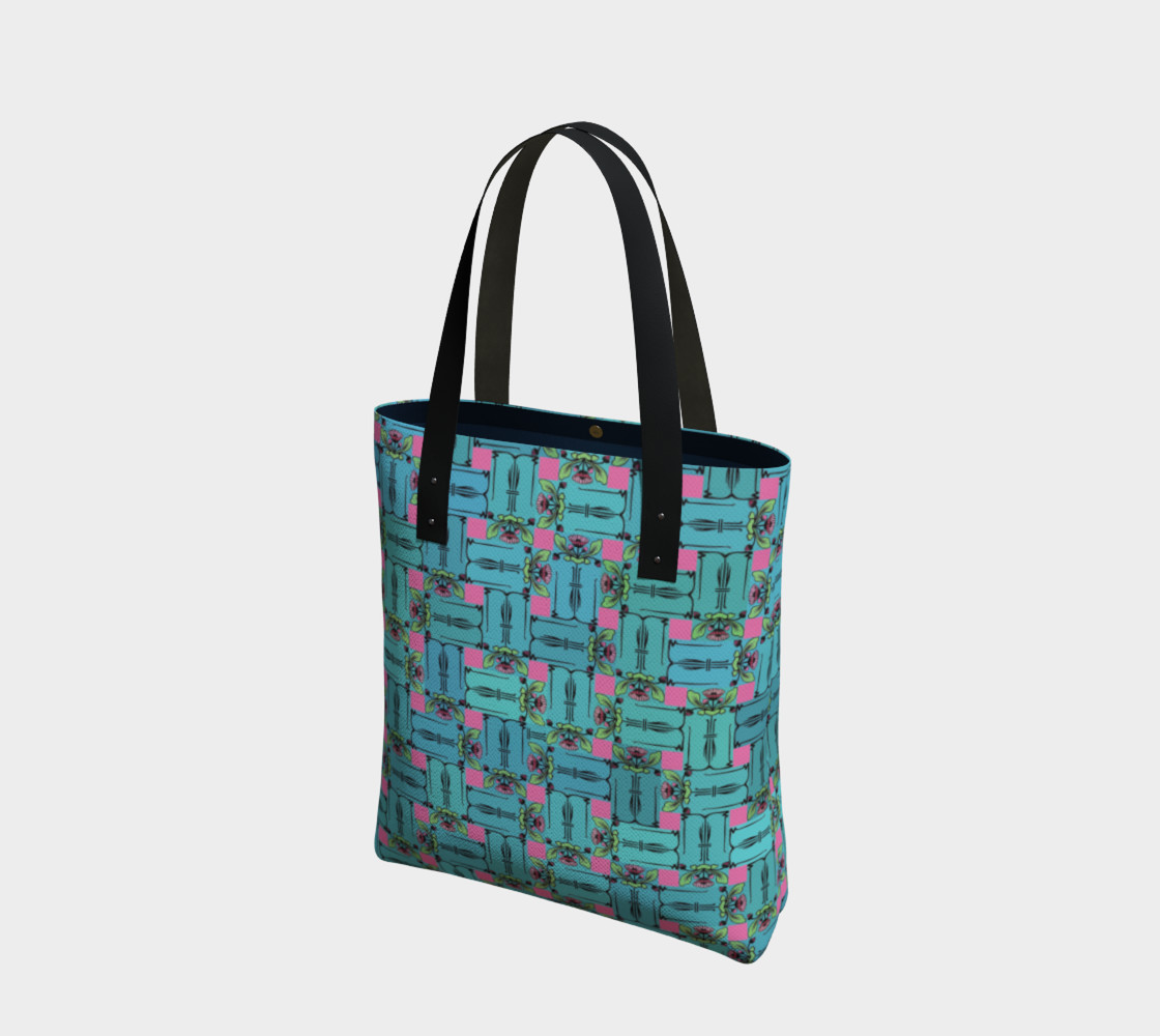 Aperçu de Charming Weave Tote Bag #1
