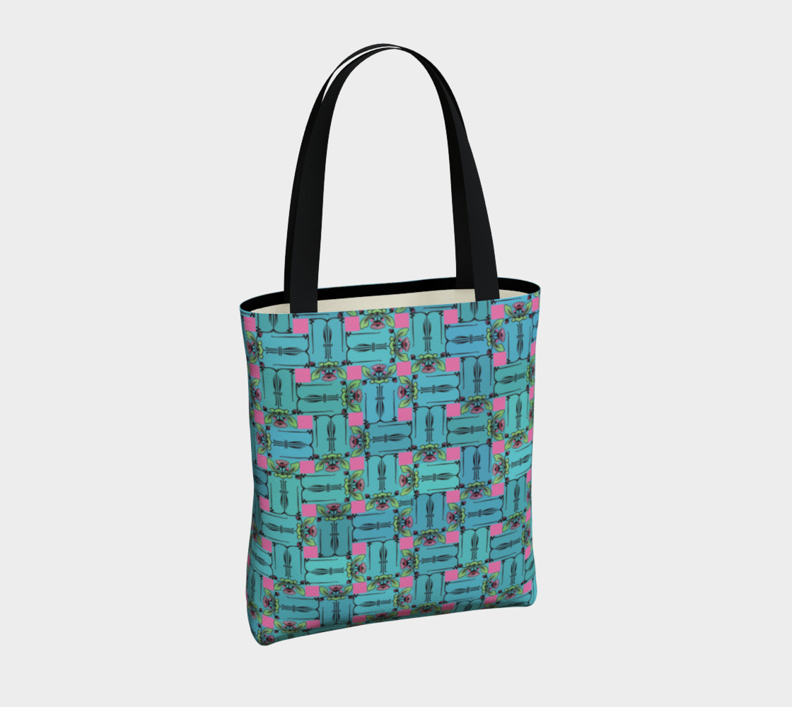 Charming Weave Tote Bag preview #4
