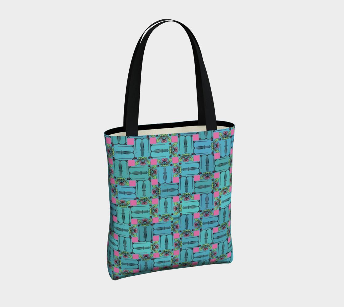 Aperçu de Charming Weave Tote Bag #4