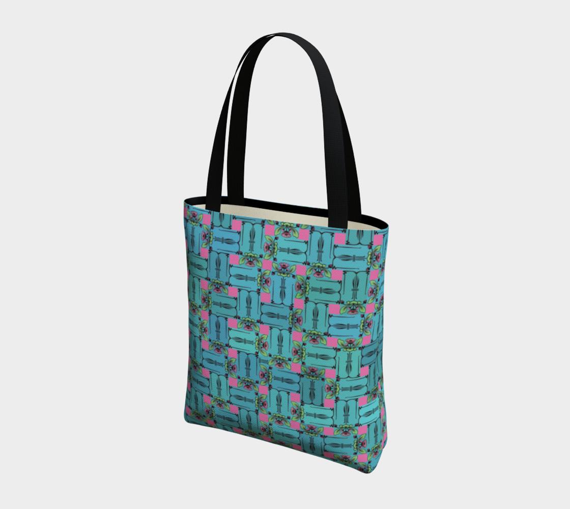 Aperçu de Charming Weave Tote Bag #3
