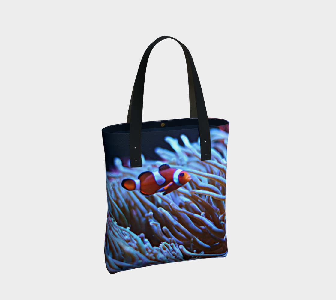 Clownfish Black light Reactive Tote preview #2
