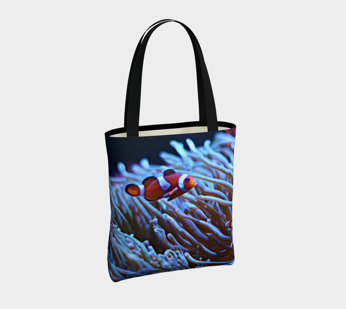 Clownfish Black light Reactive Tote preview #4