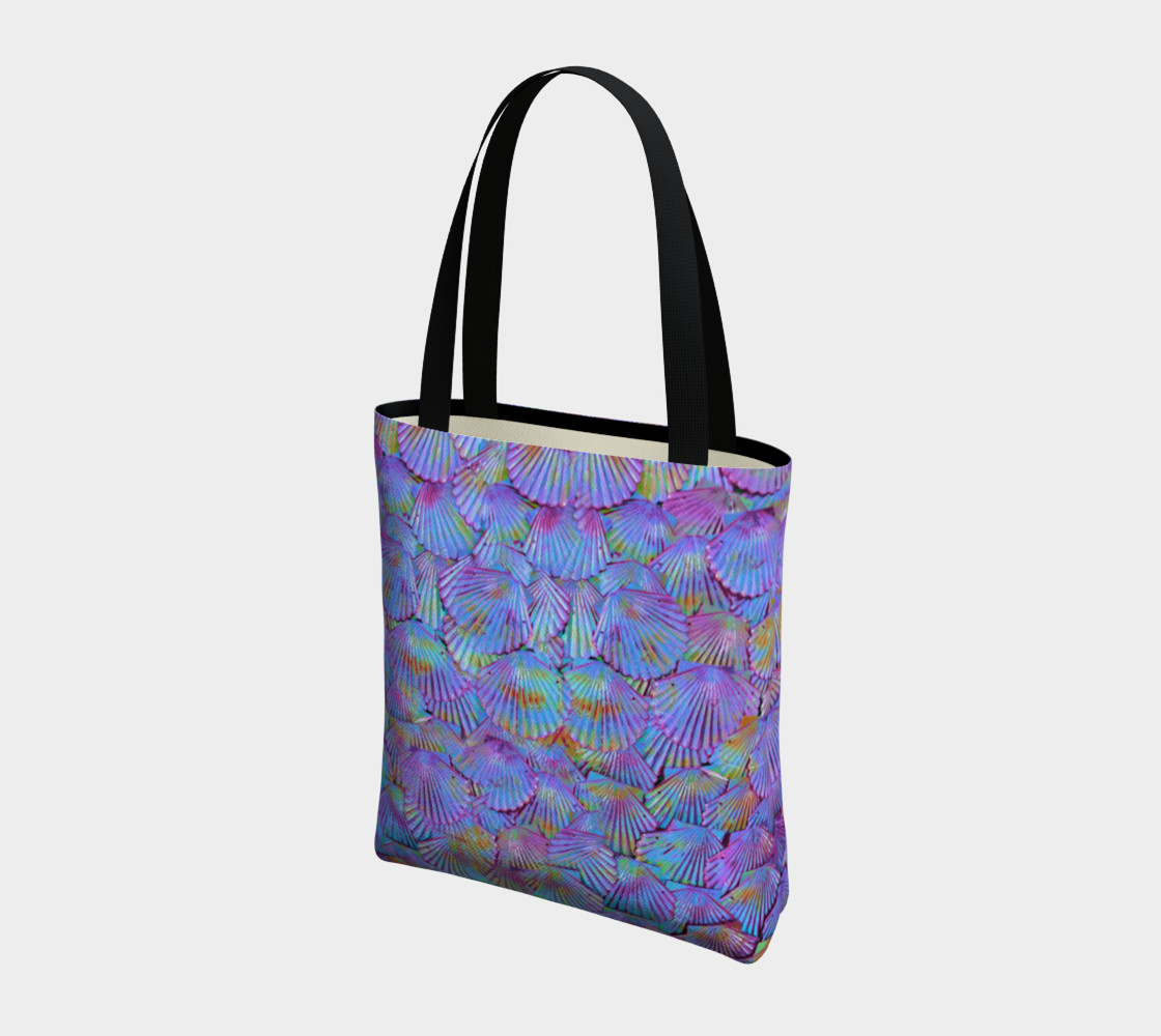 Lilac Scales Tote preview #3