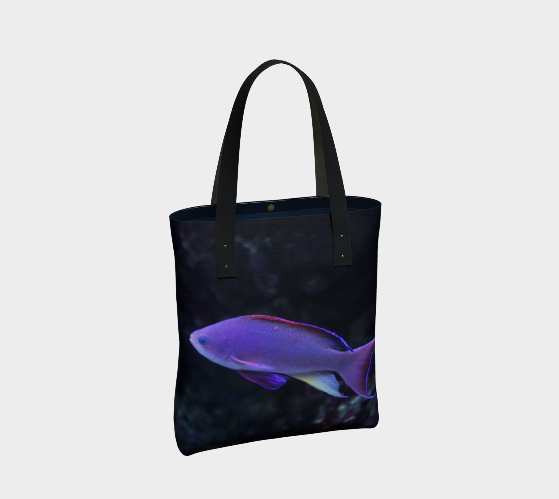 Purple Beauty Tote  preview #2
