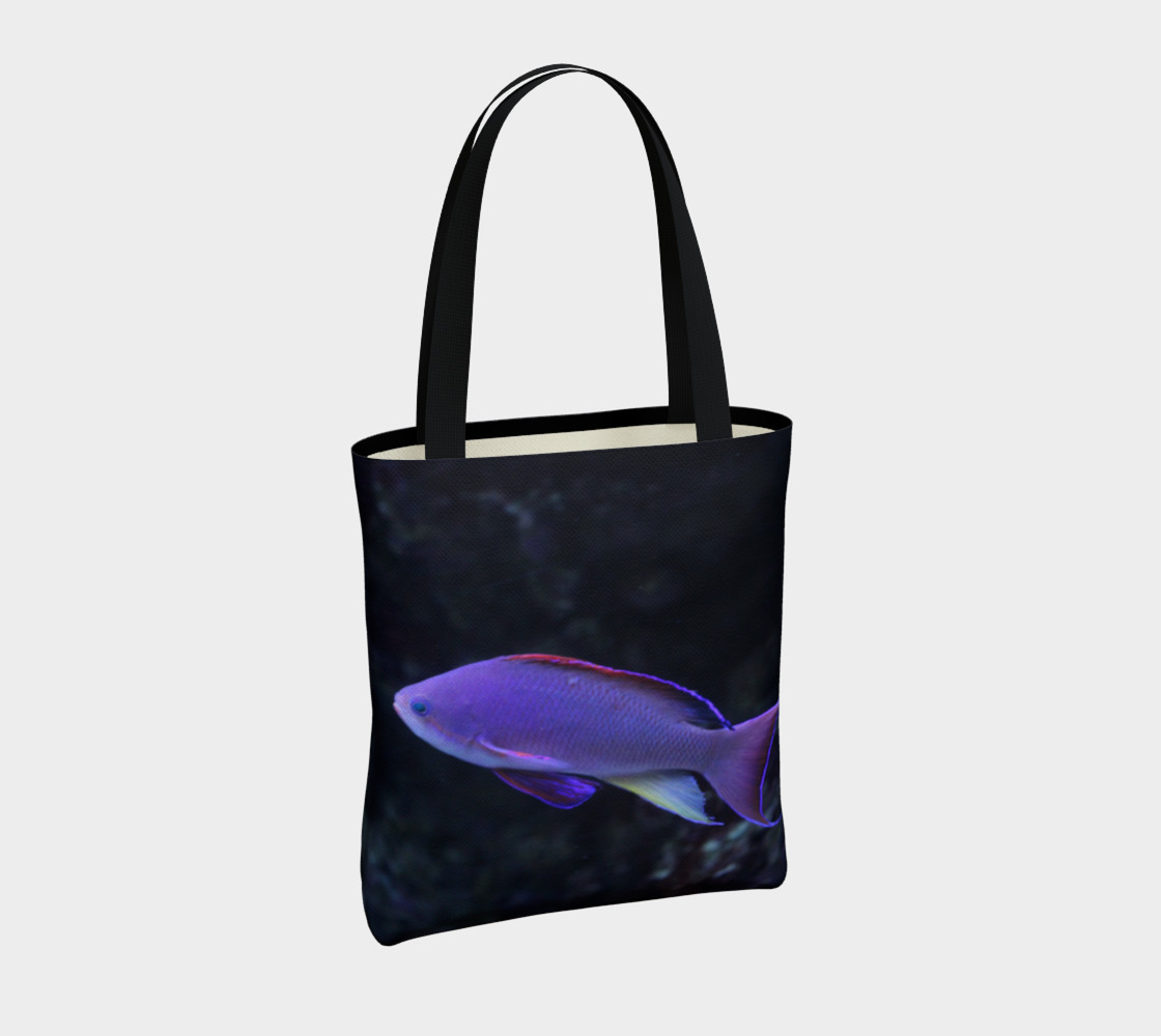 Purple Beauty Tote  preview #4
