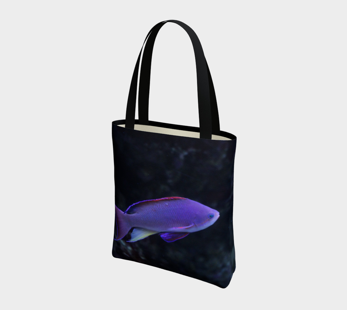 Purple Beauty Tote  preview #3
