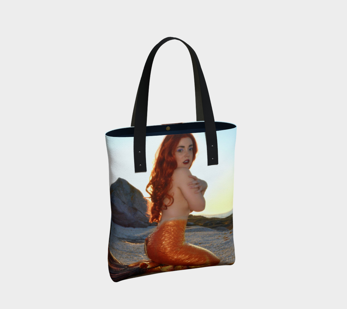 Pinup Mermaid Tote preview #2