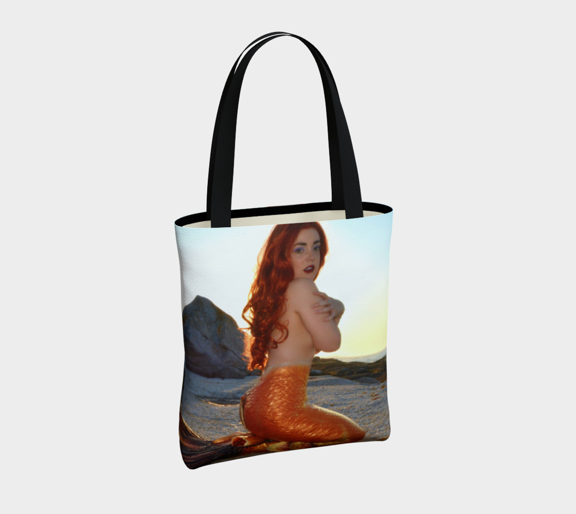 Pinup Mermaid Tote preview #4