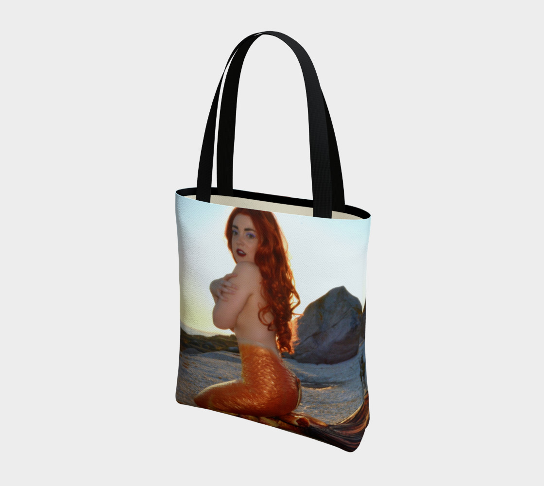 Pinup Mermaid Tote preview #3