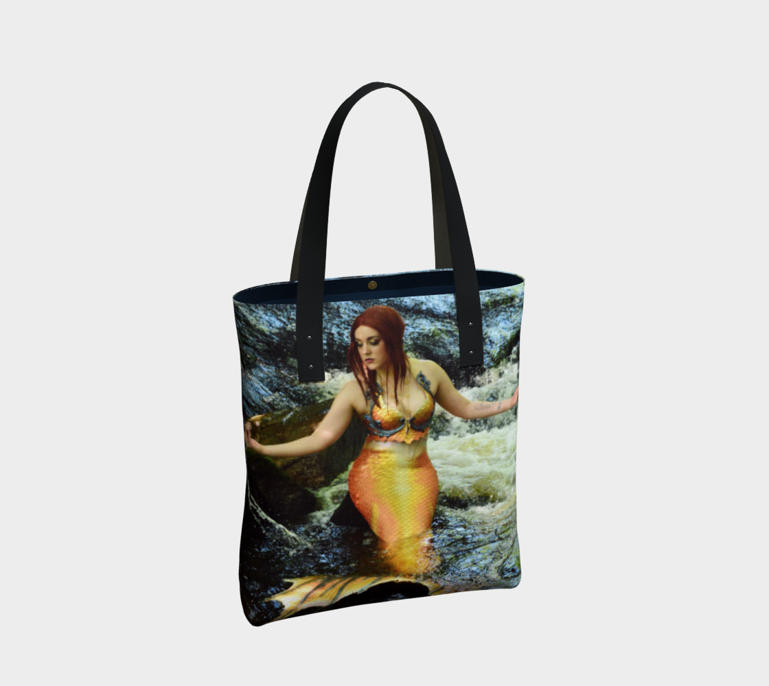 Mermaid Waterfall Tote preview #2