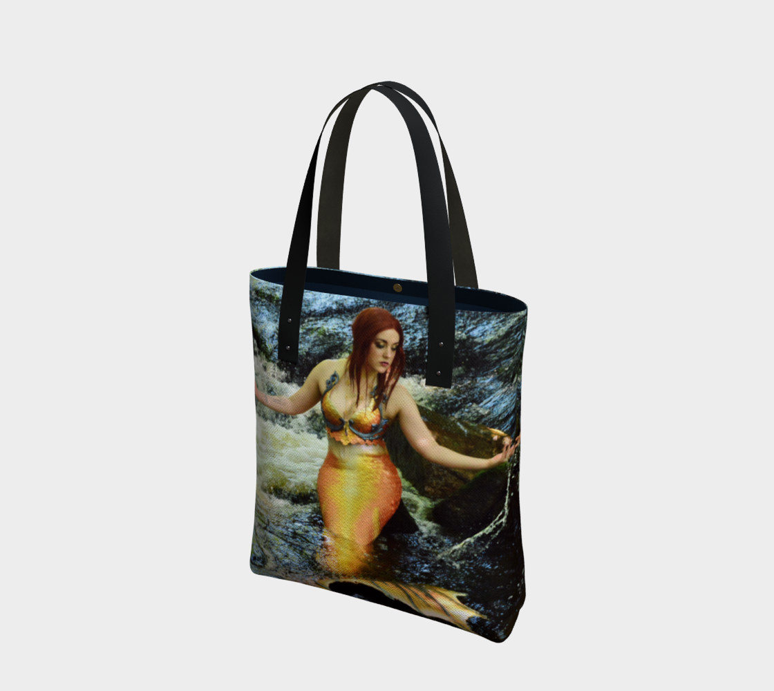 Mermaid Waterfall Tote preview #1