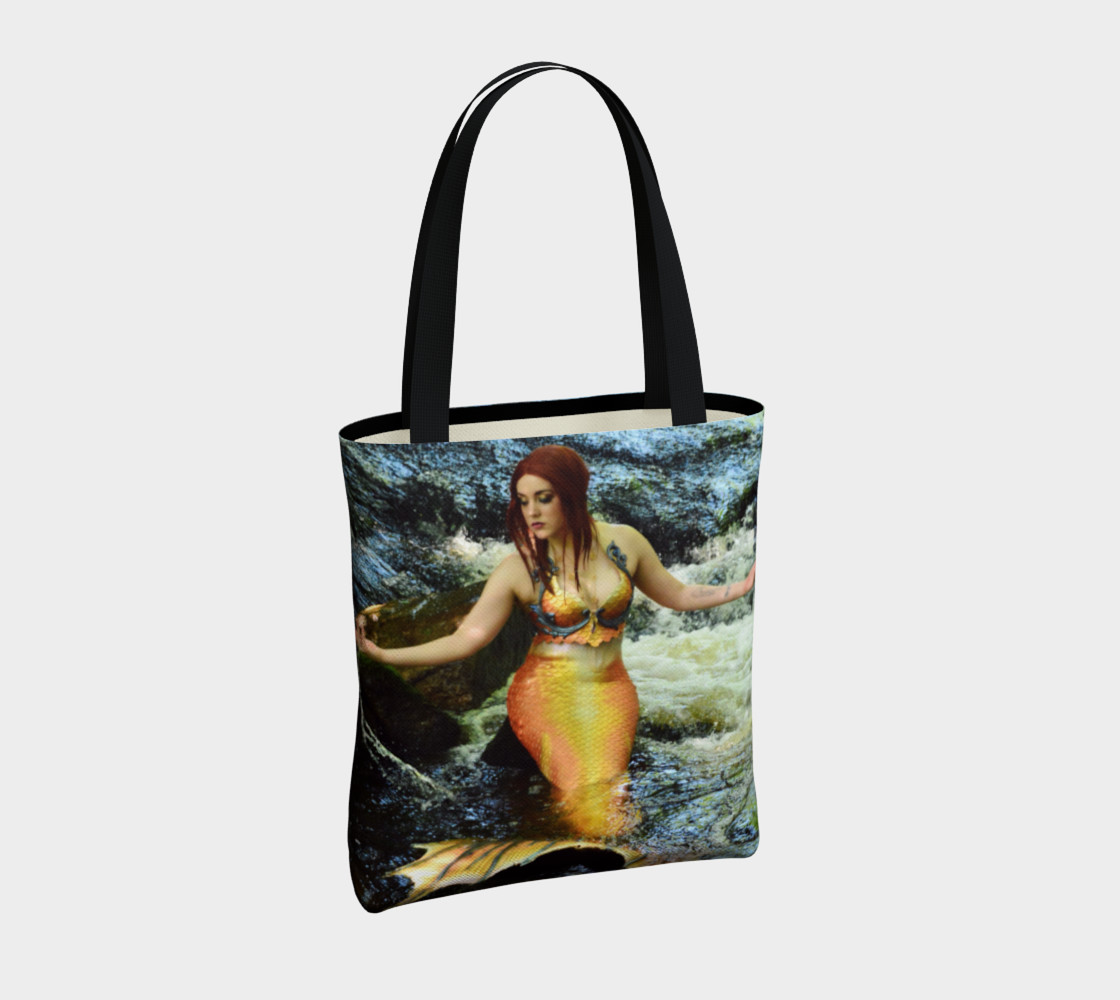 Mermaid Waterfall Tote preview #4