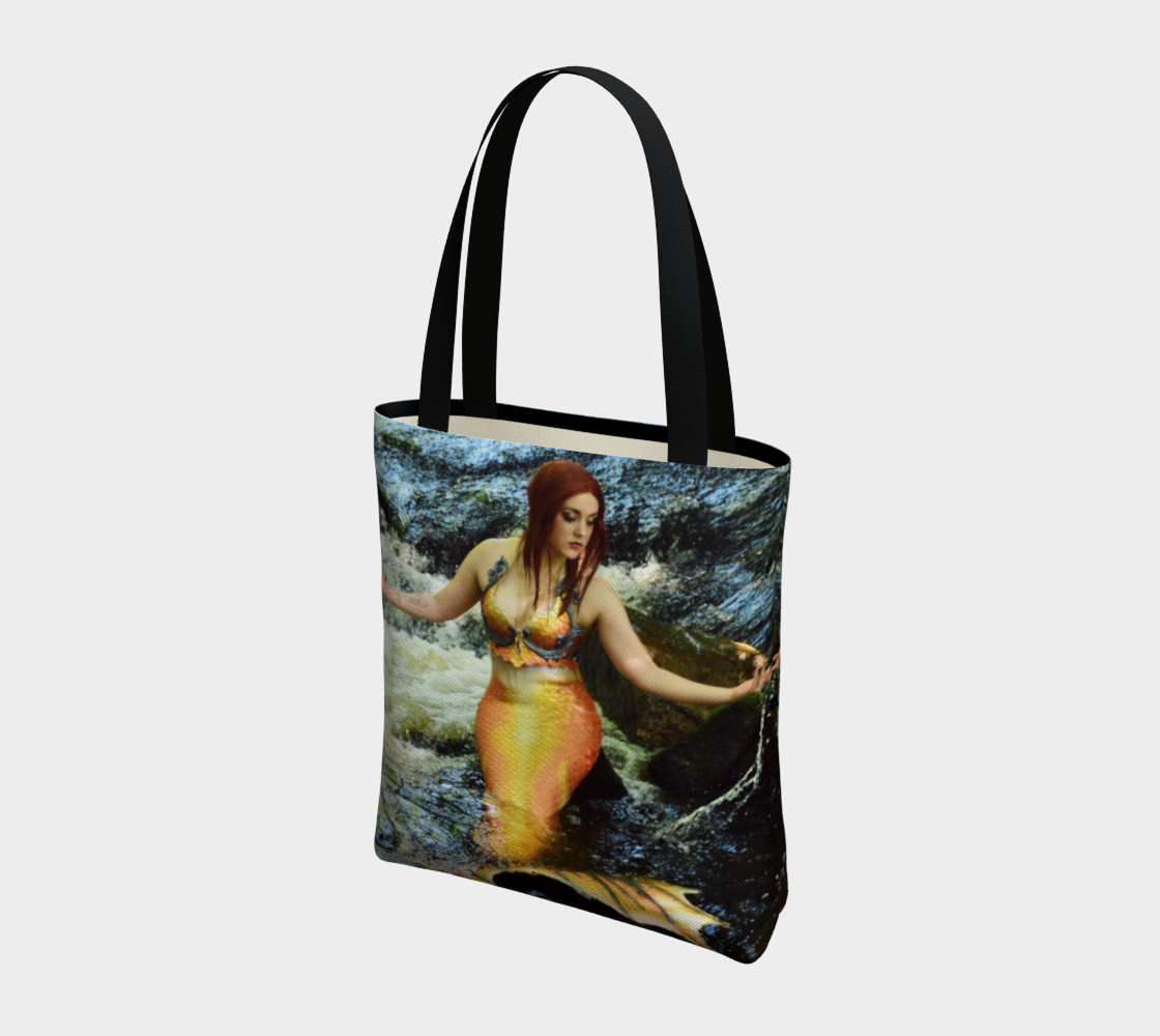 Mermaid Waterfall Tote preview #3