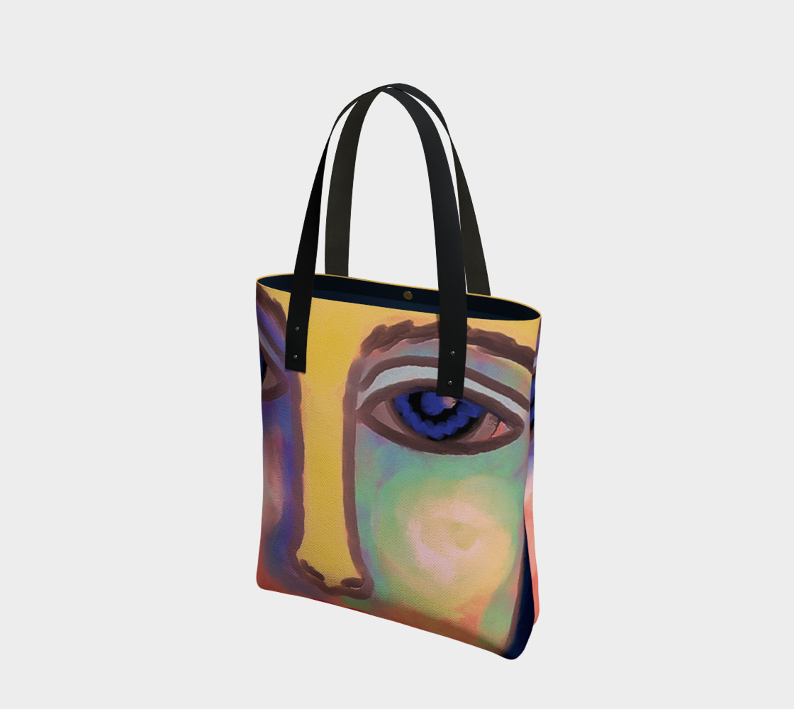Colorful Abstract Art Shoulder Bag preview #1