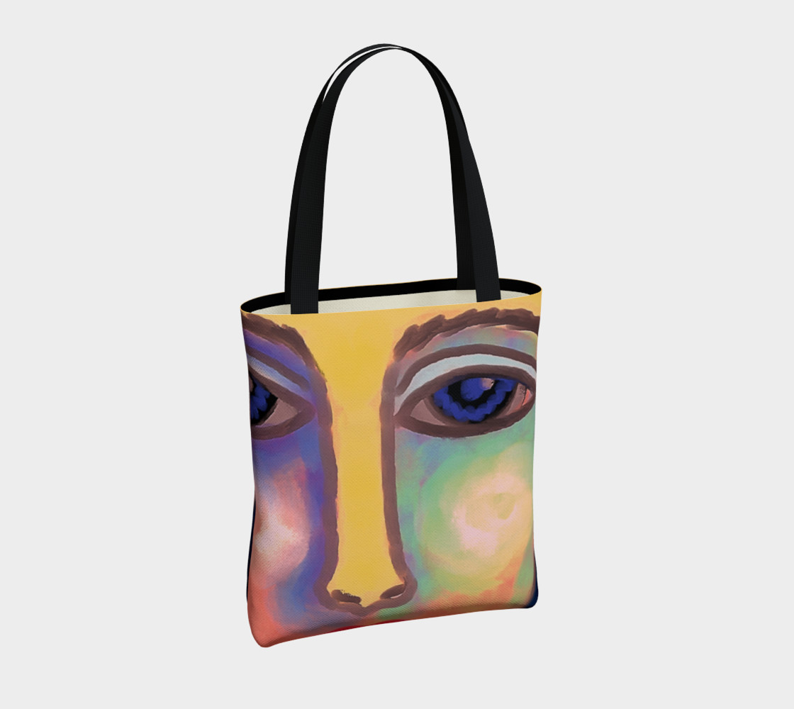 Colorful Abstract Art Shoulder Bag preview #4