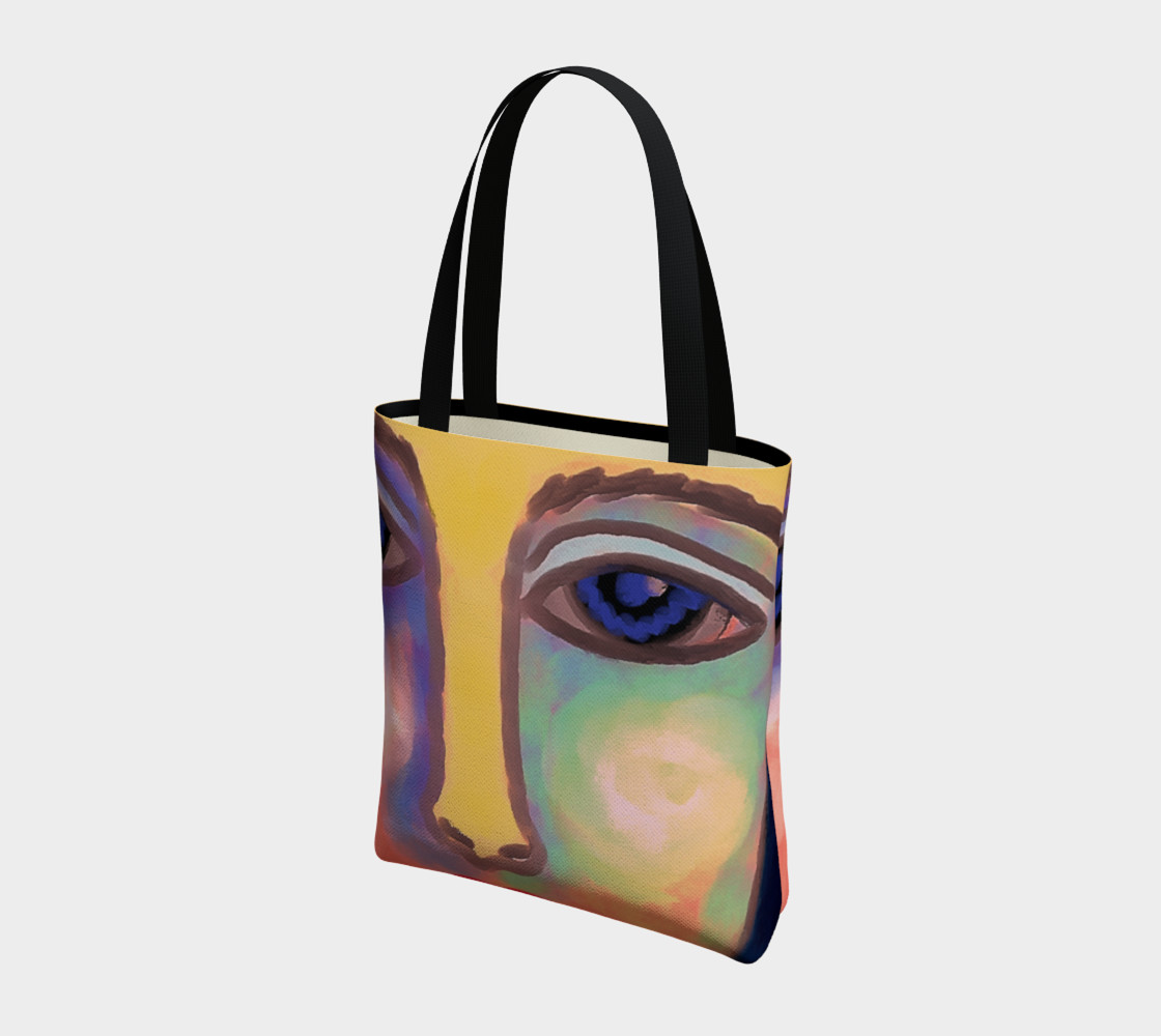 Colorful Abstract Art Shoulder Bag preview #3